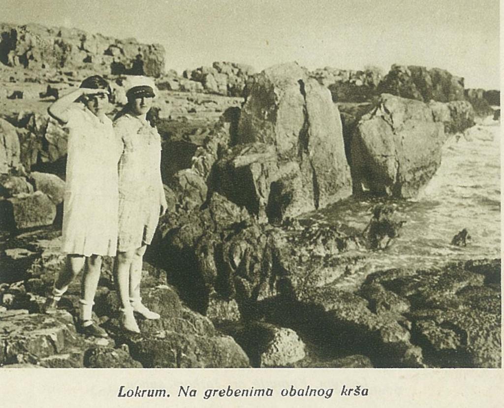 Локрум - на гребенима околног крша